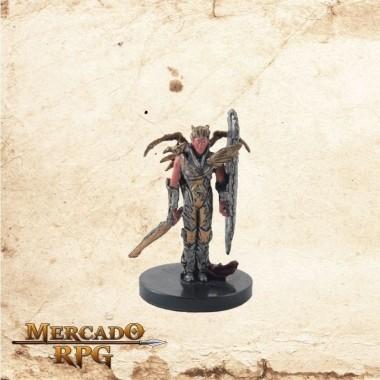 Elf Dragonkith - Com carta - Miniatura RPG