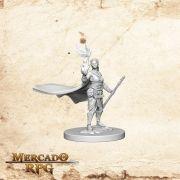 Elf Female Druid A - Miniatura RPG