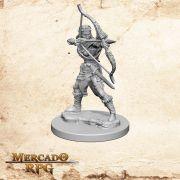 Elf Female Ranger B - Miniatura RPG
