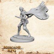 Elf Female Rogue B - Miniatura RPG