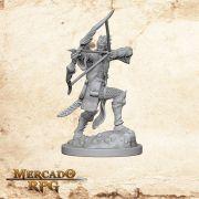 Elf Male Bard A - Miniatura RPG