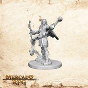 Elf Male Sorcerer A - Miniatura RPG