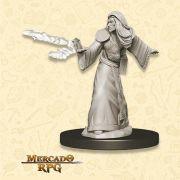 Elf Male Wizard D - Miniatura RPG