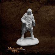 Elthin Bluesteel, Gunslinger - Miniatura RPG