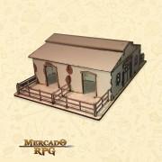 Estábulo - Cenários MDF - RPG