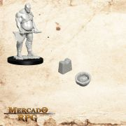 Executioner e Chopping Block - Miniatura RPG