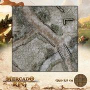 Fazenda Norte - Inverno 50x50 - RPG Battle Grid D&D
