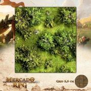 Floresta 50x50 - RPG Battle Grid D&D