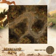 Floresta do Outono B 50x50 - RPG Battle Grid D&D