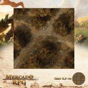 Floresta do Outono C 50x50 - RPG Battle Grid D&D