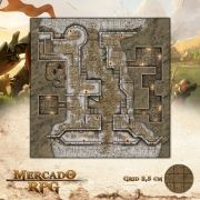 Forte - Inverno 50x50 - RPG Battle Grid D&D