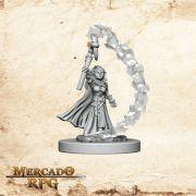 Gnome Female Sorcerer B - Miniatura RPG