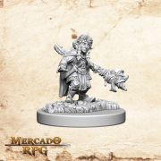 Gnome Female  Wizard B - Miniatura RPG