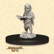 Gnome Male Sorcerer B - Miniatura RPG