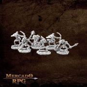 Goblins (6) - Miniatura RPG