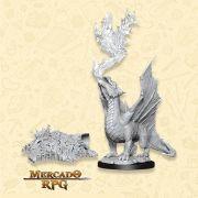Gold Dragon Wyrmling - Miniatura RPG