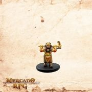 Gold Dwarf Female Cleric