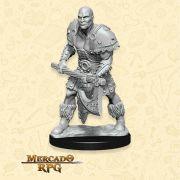 Goliath Male Barbarian B - Miniatura RPG