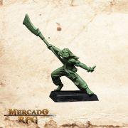 Gorgus Hanzo (Sem pintura) - Miniatura RPG