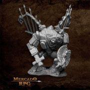 Graveyard Golem - Miniatura RPG