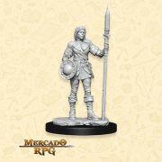 Guard Female - Miniatura RPG
