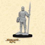 Guard Male - Miniatura RPG