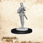 Half Elf Female Bard A - Miniatura RPG