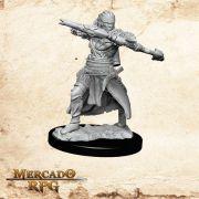 Half-Elf Male Ranger B - Miniatura RPG