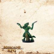 Half-Illithid Lizardfolk - Com Carta