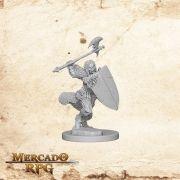 Half-Orc Female Barbarian B
