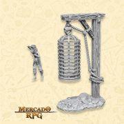 Hanging Cage - Miniatura RPG