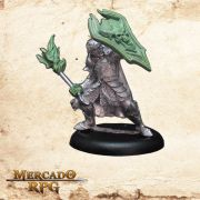 Hanssen Hanzar - Caçador de Demônios (Sem pintura) - Miniatura RPG
