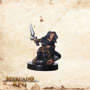 Hellakin Goregutter, Halfling Thief - Reaper Bones - Miniatura RPG
