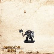 Hill Dwarf Warrior  - Com Carta