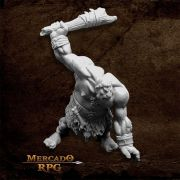 Hill Giant Lowland Warrior - Miniatura RPG
