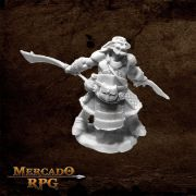 Hobgoblin Veteran Two Swords - Miniatura RPG