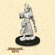 Human Female Druid C - Miniatura RPG