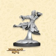 Human Female Monk C - Miniatura RPG