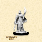 Human Female Oracle A - Miniatura RPG
