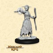 Human Female Warlock B - Miniatura RPG