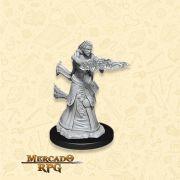 Human Female Wizard F - Miniatura RPG
