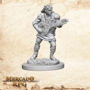 Human Male Bard A - Miniatura RPG