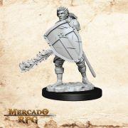 Human Male Fighter C - Miniatura RPG