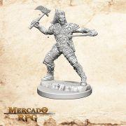 Human Male Ranger A - Miniatura RPG