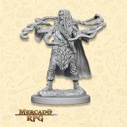 Human Male Sorcerer B - Miniatura RPG