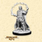 Human Male Wizard E - Miniatura RPG