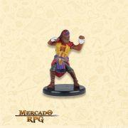 Human Sun Soul Monk - Miniatura RPG