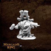 Ivar, Dwarf Priest - Miniatura RPG