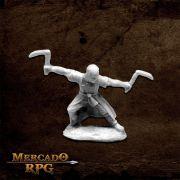Jade Tiger, Monk - Miniatura RPG