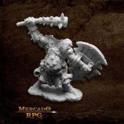 Kagunk, Ogre Chieftain - Miniatura RPG